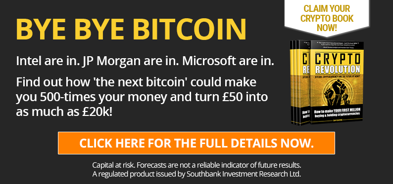 Bye bye Bitcoin –  Intel are in. JP Morgan are in. Microsoft are in.