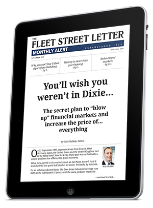 The Fleet Street Letter Monthly Alert ipad
