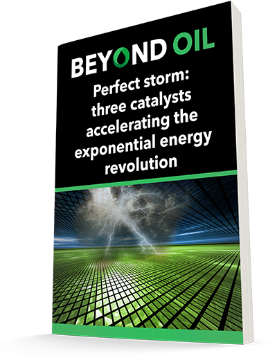 Perfect Storm: Three catalysts accelerating the exponential energy revolution