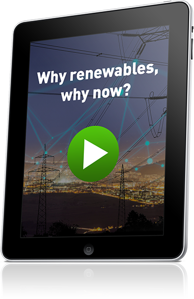 Why renewables, why now?